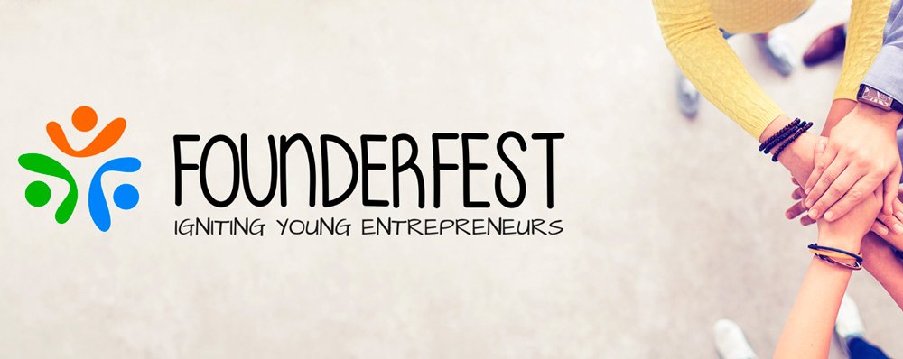 FounderFest: Supported By instantprint!
