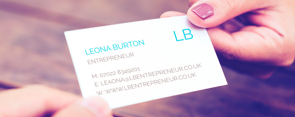 Business Card Etiquette for New Entrepreneurs