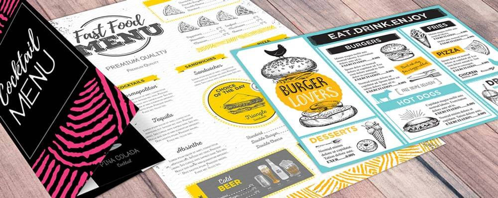 Menu Designs - 25 Restaurant & Bar Menu Designs You'll Want to Steal