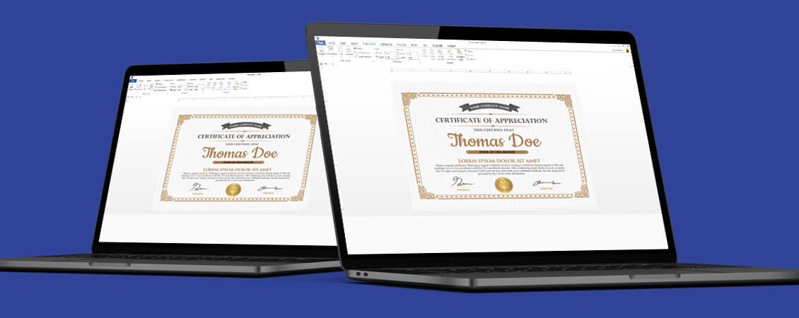 How to Design a School Certificate in Word