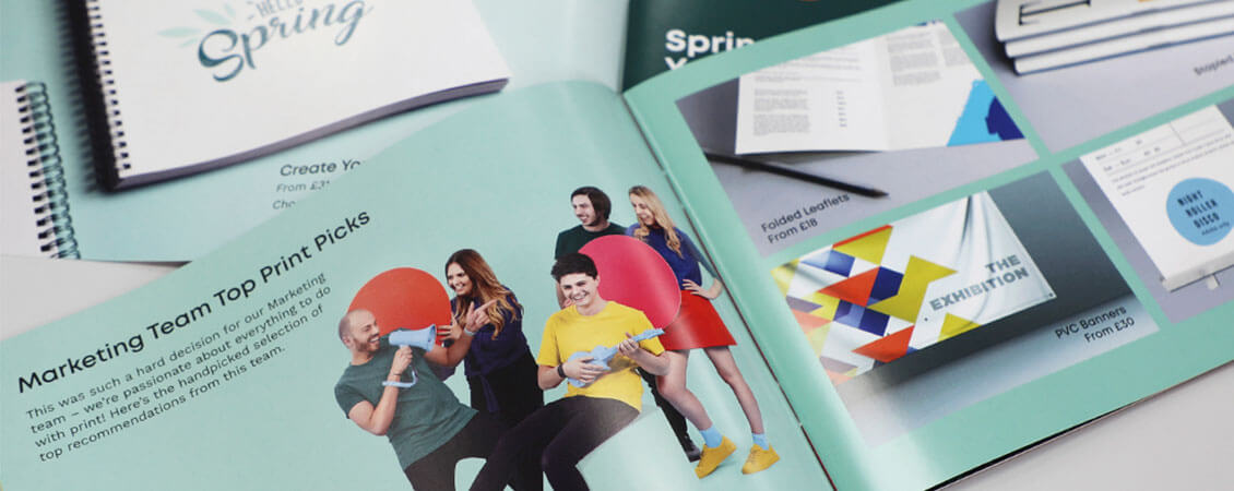 instantprint Spring Catalogue 2020