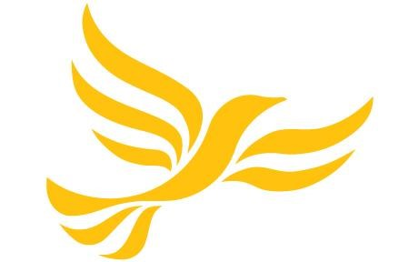 liberal democrats logo and political party colour orange
