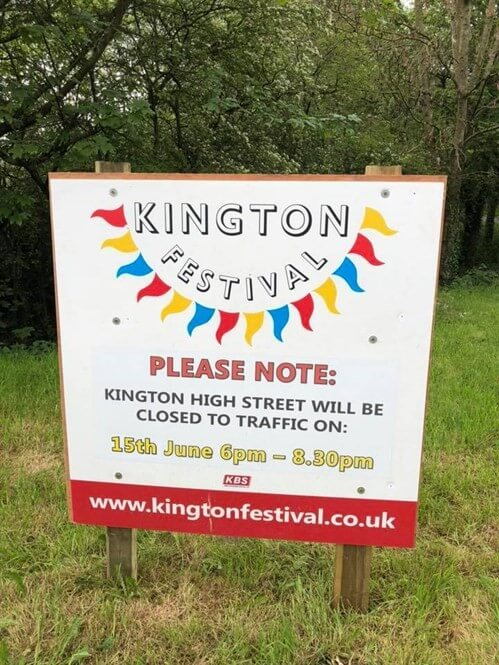 colourful festival sign design