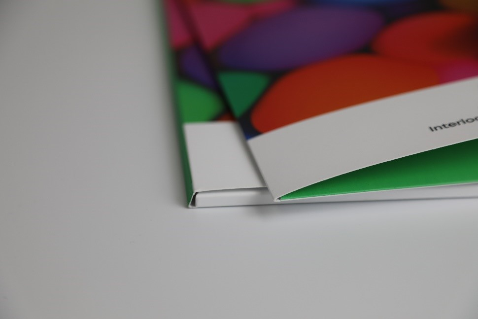 multicoloured presentation folder wallets with velvet lamination coating