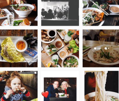 pho user generated content example