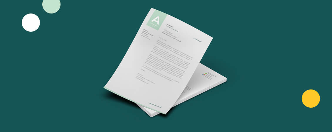 Our Top 13 Letterhead Examples to Inspire Your Own