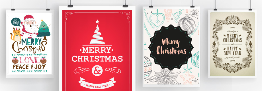 7 Creative Christmas Poster Designs