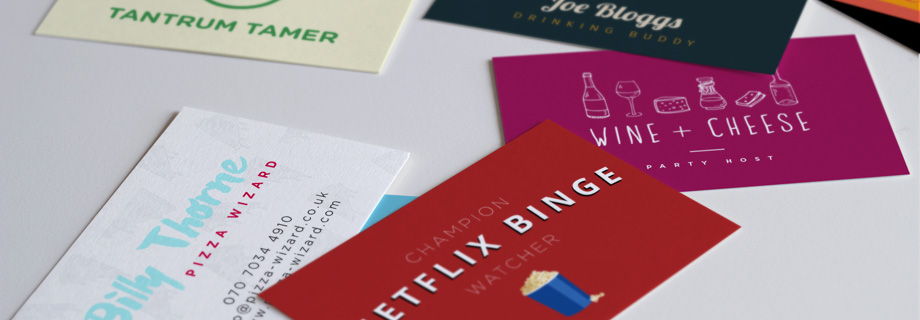 Business Cards for Work and Play