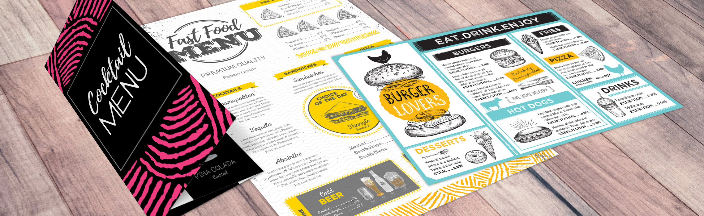 25 Menu Designs You'll Want to Steal