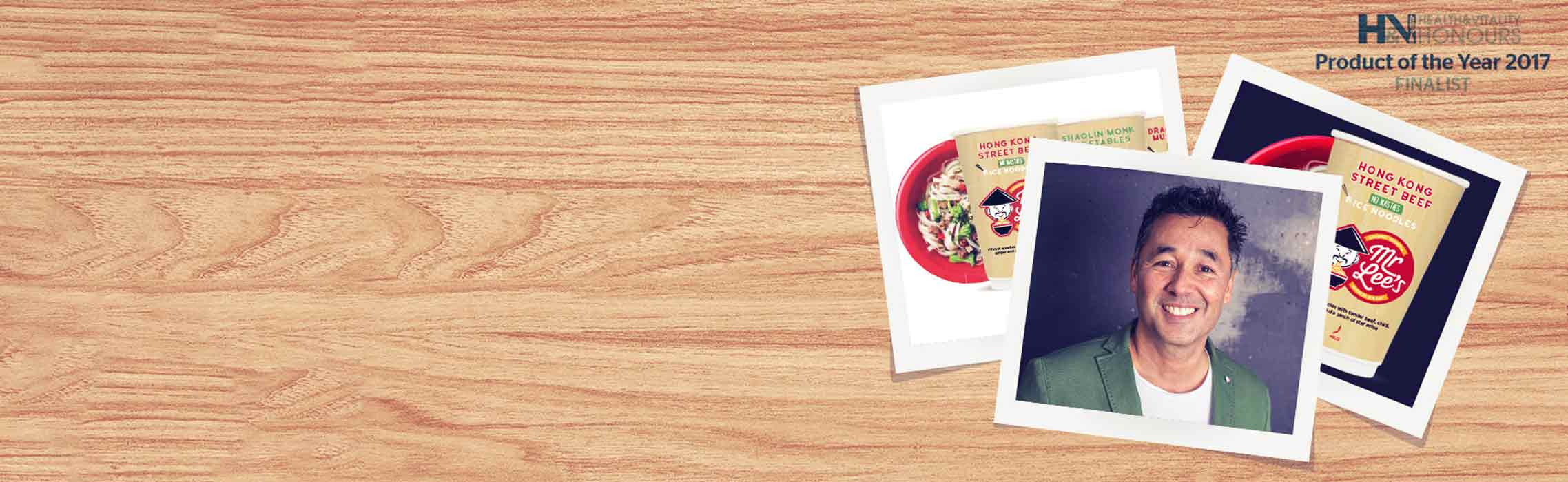 What's Your Story? Mr Lee's Noodles Say No To Nasties!