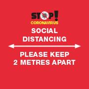 Keep 2 metres apart