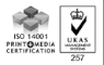 ISO 14001 Print and Media Certification