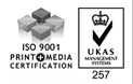 ISO 9001 Print and Media Certification