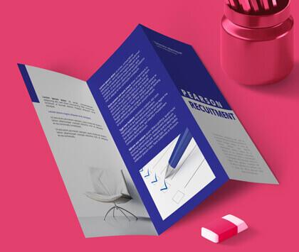 A4 Folded Flyers & Leaflets