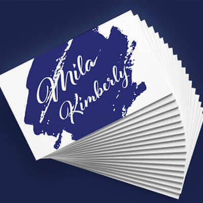 How to Create a Feeling of Luxury with Business Cards