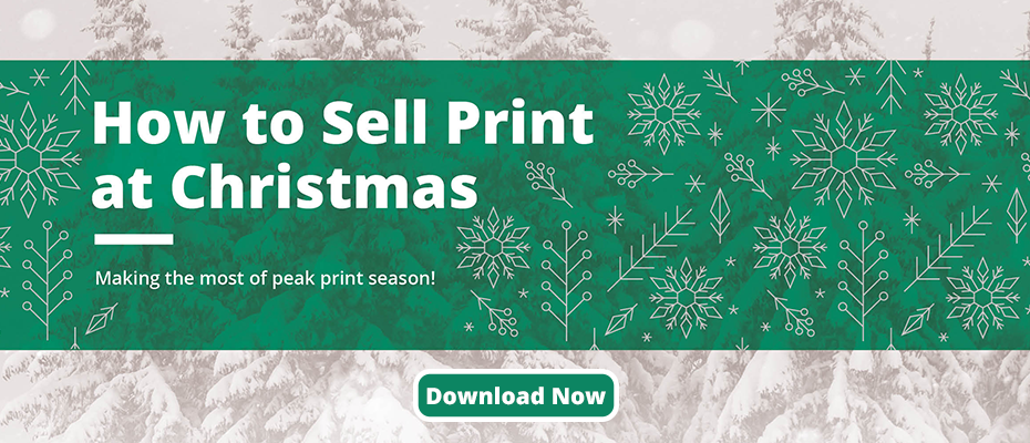 How to sell print at Christmas