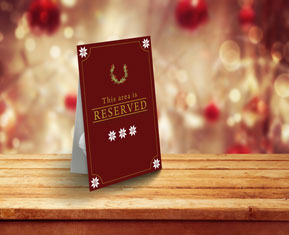 Reservation Notice