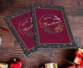 Christmas Menu (Leaflet)
