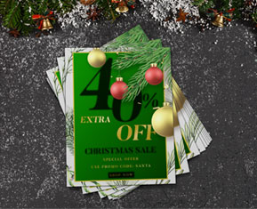 Christmas Offers Flyer