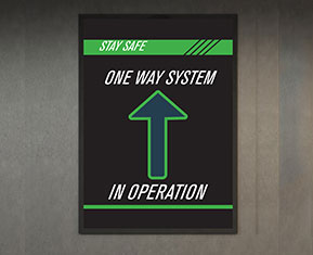 One-Way System Poster
