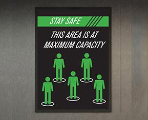 Max. Capacity Poster