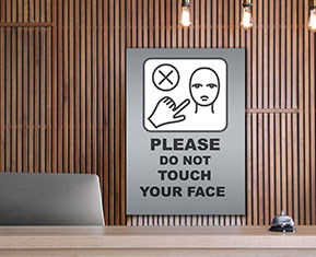 Do not touch your face Poster