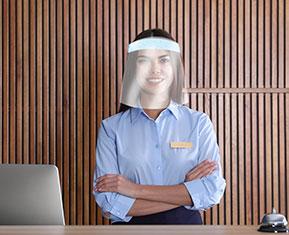 Face Visor with Foam Headband