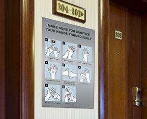 How to Handrub Posters