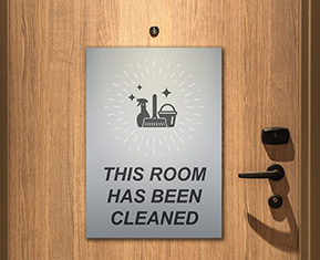 Room Has been cleaned Poster