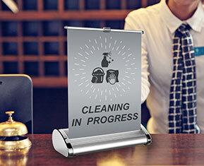 Cleaning in progress Desktop Banner
