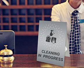 Cleaning in progress Strut Card