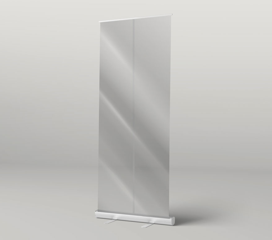 Clear Roller Banners