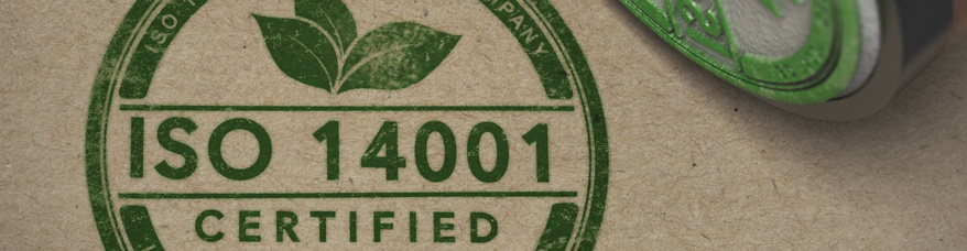 Certified ISO 14001 Standards