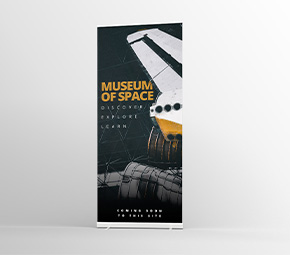 Wide Roller Banners | Route 1 Print