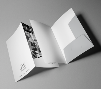 Route 1 Print | Interlocking Presentation Folders