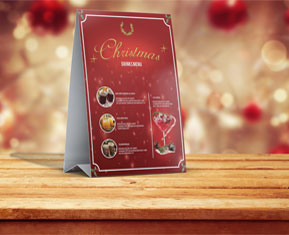 Christmas Table Card