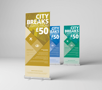 Route 1 Print | Same Day Express | Roller Banners