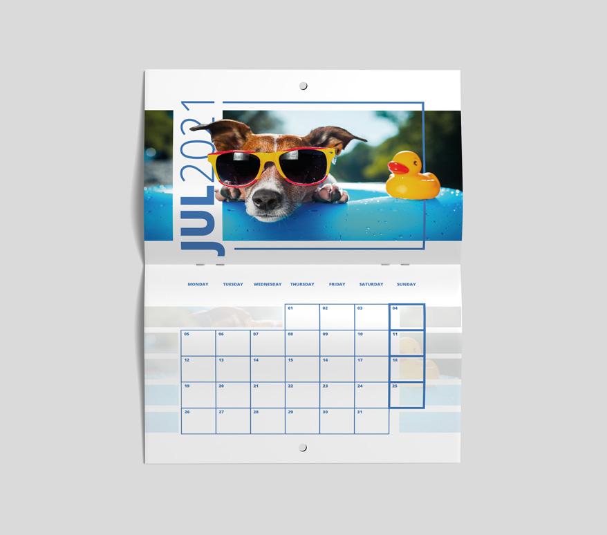 Route 1 Print | Drilled Calendars