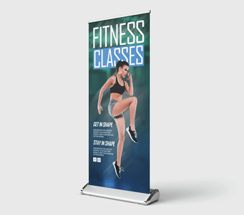 Route 1 Print | Premium Roller Banners