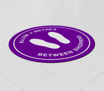 Vinyl Floor Stickers