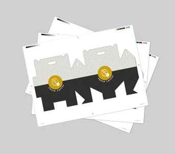 Route 1 Print | Boxboard