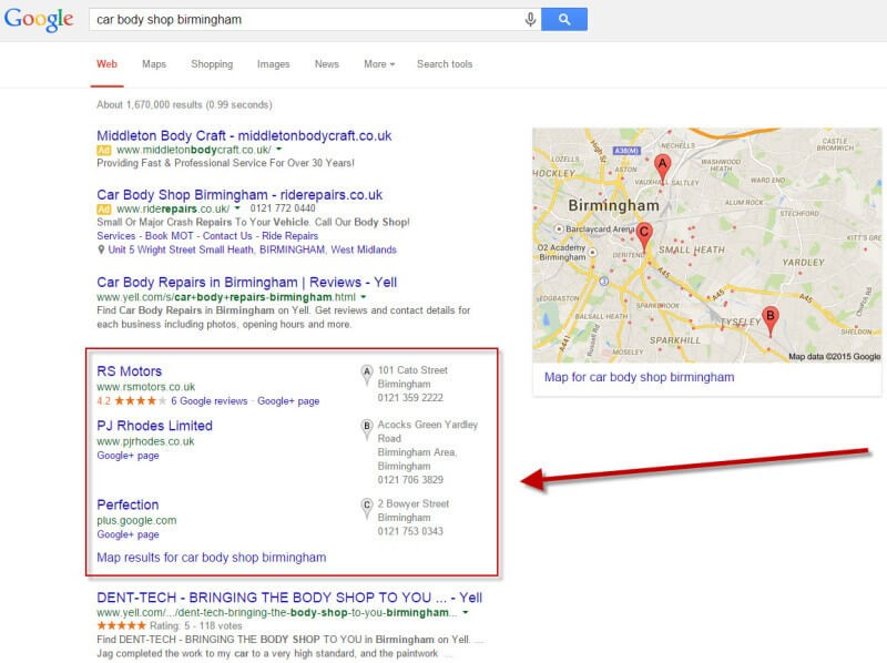 Getting Your Print Shop on Google